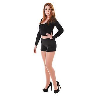 Bristol Novelty Womens / Dames Hot Pant Shorts
