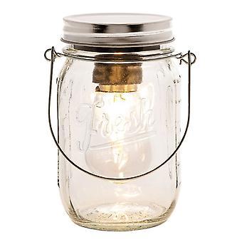 Edison LED Kilner Jar Small Clear