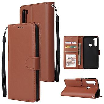 High Quality Stand Support Pu Leather Material Flip Wallet Case, Cover