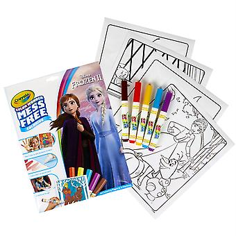 Color Wonder Mess Free Coloring Pad & Markers, Frozen 2