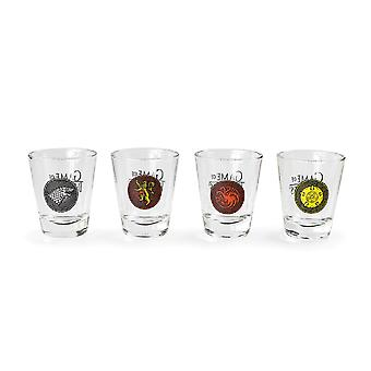Game of Thrones Talot Shot Glass Set (Pakkaus 4)