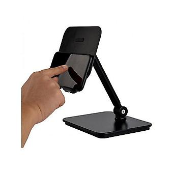 3 In 1 Full Motion Smartphone Tablet And Notebook Holder Black