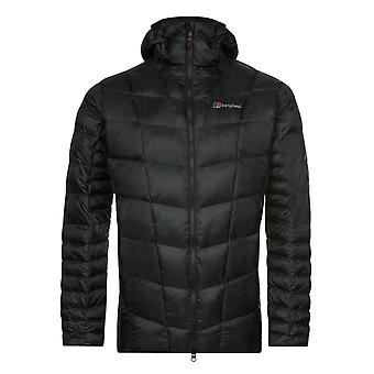 Berghaus Nunat Mountain Reflect Mens Insulated Outdoor Waterproof Jacket Black