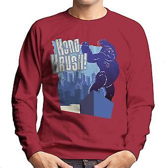 King Kong Krush Men's Sweatshirt