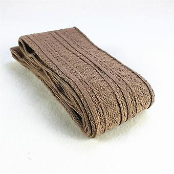 Térd zokni pamut comb harisnya meleg hosszú szexi média