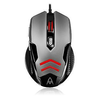 ADESSO iMouse X1 | Gaming-Maus mit 6 Tasten