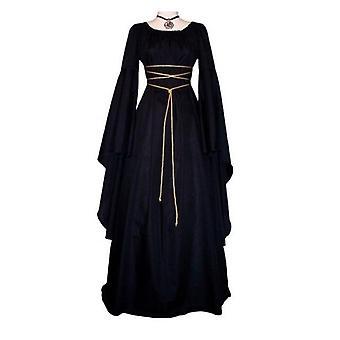 Cotton Polyester Explosion Modèles Femmes Robe longue
