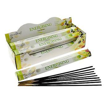 Stamford hex incense sticks - energising 6 supplied