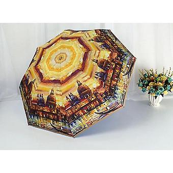 Taittuva sateenvarjo pakettiauto