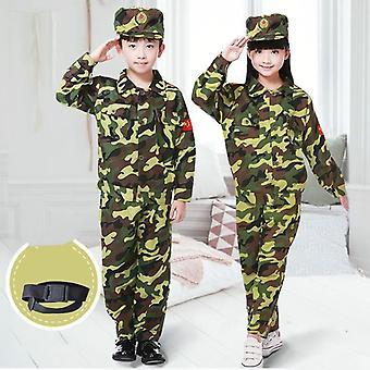 Lasten naamiointivaatesarja - Lasten armeija, Armeijan partiounivormuleiri
