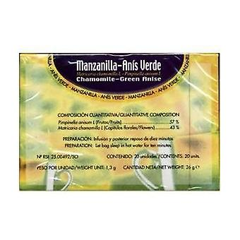 Chamomile, Green Anise Infusions 20 units