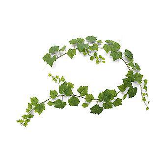 Ghirlanda d'uva artificiale 180 cm verde