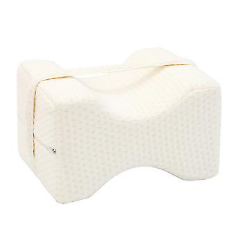Pillow for Side Sleepers, Memory Foam Knee Pillow for Pregnancy, Hip, Back, Spine Alignment
