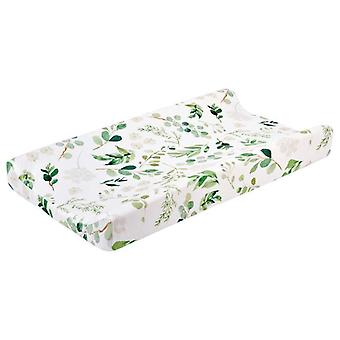 Baby Changing Pad Cover Floral Print Fitted Crib Sheet Infant Toddler Bed
