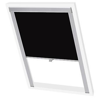 vidaXL Blacksk blinds Black SK08