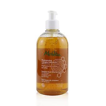 Champú de lavado frecuente Melvita (todos los tipos de cabello) 500ml / 16.9oz