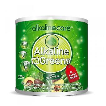 Cura alcalina Alkalische verzorgingsgroenten