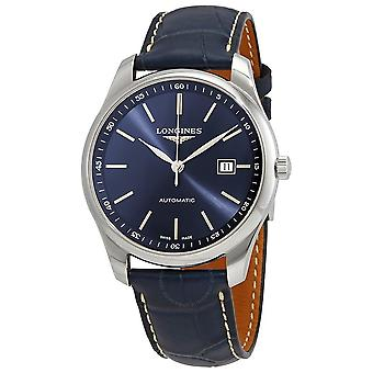 Longines Master Automatic Sunray Blue Dial Men's Watch L2.893.4.92.0