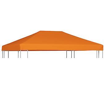 vidaXL pavilion roof 310 g/m2 4x3 m orange