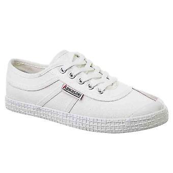 KAWASAKI FOOTWEAR - Original canvas shoe - white - men's footwear