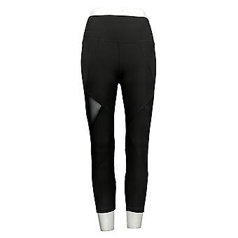 Tracy Anderson for G.I.L.I. Kvinders Leggings Regelmæssig Crop Black A354969