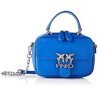 Pinko, LOVE MINI SQUARE SIMPLY 1 CL V Vrouw, G54_BLU, U