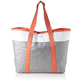 Bree Vary 8 - Crossbody bag, unisex, 17 x 40 x 56 cm, Grey (Grey/White/Sunset).), 17x40x56 cm (B x H x T)