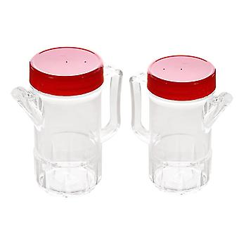 Acrylic Olive Oil & Vinegar Bottles Large Capacity Cooking