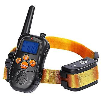 Dog training collar barker electric shock  anti- called  stop  remote control training aids