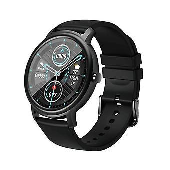 Bluetooth Smart Watch Männer Damen Uhren Sport Smartwatch Fitness Herz T Uhren (schwarz)