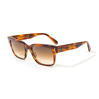 Ray-Ban Jeffrey Sunglasses - Striped Havana