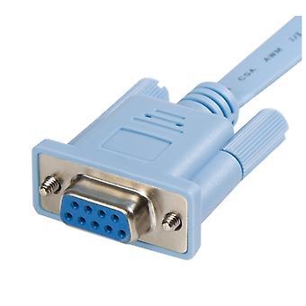 Câble de routeur de gestion de console Cisco RJ45 à DB9 de 6 pieds - H/F