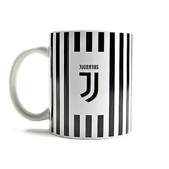Juventus randiga vapen boxas 11oz mugg