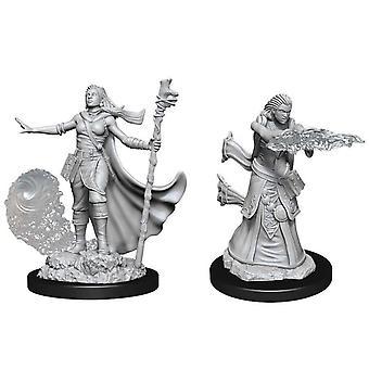 Dungeons & Dragons Nolzur's Marvelous Unpainted Miniatures (W11) Female Human Wizard