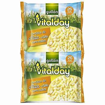 Kukorica sütemények Gullón Vitalday (108 g)