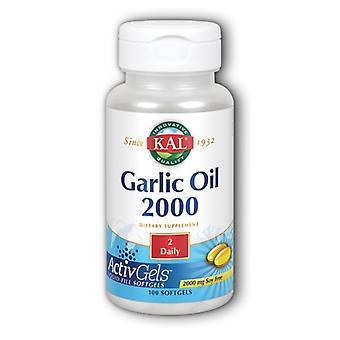 Kal cesnakový olej 1500, 100 mäkké kapsuly