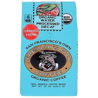 Jeremiahs Pick Coffee Coffe Grnd Decf Wtr Prcss, Kotelo 6 X 10 Oz