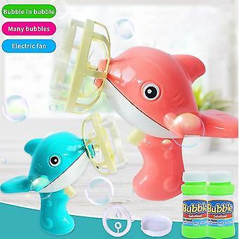 Kinder Seife Bubble Blower Maschine Spielzeug Elektrische Mini Lustige Kinder Sommer Seife Wasser Outdoor Spielzeug