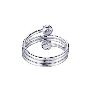99.9% Pure Copper Magnetic Ring Ladies Snake-shaped Magnetic Ring