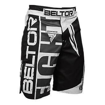 Beltor MMA sweat control - Maat M - zwart wit - Vechtsport kleding