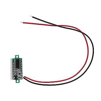 "Dc 3-30v 0.28 "" 2-przewodowy panel cyfrowy Volt Meter Volt Meter Voltage Motor"