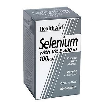 HealthAid Selen 100ug + Vitamin E 400iu Kapseln 30 (801355)
