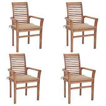 vidaXL כיסאות אוכל 4 יח'.