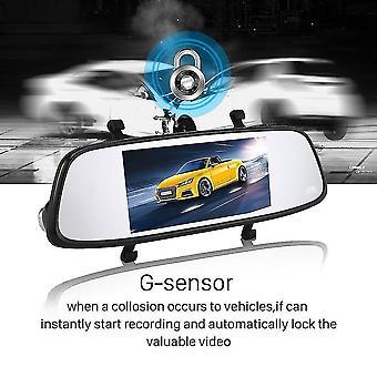 Blackview 7'' Ips Front View 1080p Rearview Vga G-sensor Car Driving Recorder