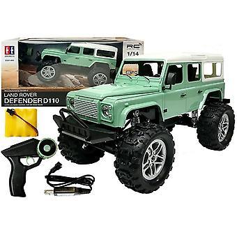 RC-Jeep - 7,5 km/h - 2,4 GHz - kauko-ohjaimella