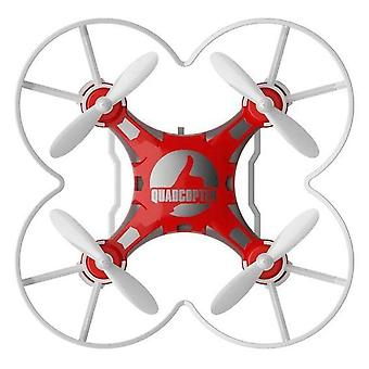 FQ777 124 4 Axis Children's Toy Pocket Drone(Red)