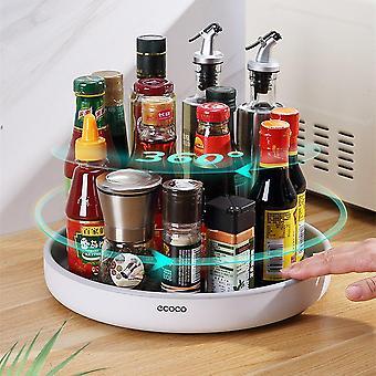 منظم لتوابل المطبخ تخزين رف تدوير أصحاب التوابل متعددة الوظائف والرفوف