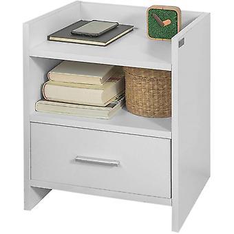 SoBuy FBT66-W, Nachttischständer mit Schublade