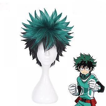 Mon héros academia anime perruques courte boucle perruque casquette
