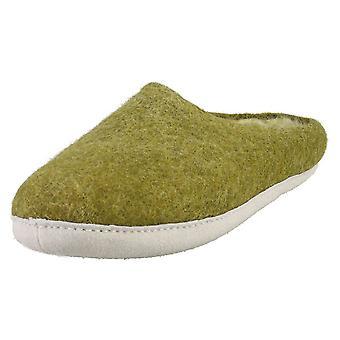 egos copenhagen Slipper Moss Green Unisex Slippers Shoes in Green